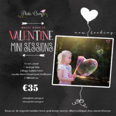 Valentijn: boek je shoot met magische bellenblaas