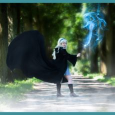 Wizardly world; cosplay shoot Potter Stijl